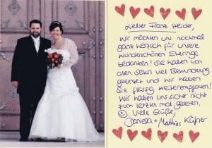 Referenz Eheringe Unterschleißheim