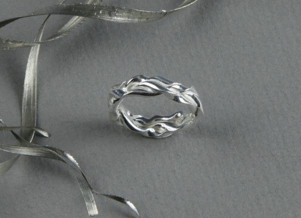 Gelechtsring Luna Silber 970